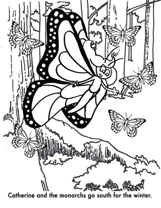 Save Our Monarchs Kids Coloring Contest - Save Our Monarchs
